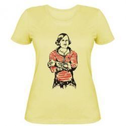 Женская футболка Гоголь