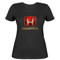 Жіноча футболка Gold Honda