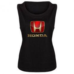 Женская майка Gold Honda - FatLine
