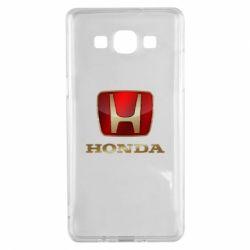 Чехол для Samsung A5 2015 Gold Honda