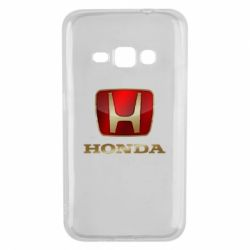 Чехол для Samsung J1 2016 Gold Honda