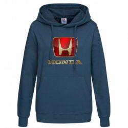 Женская толстовка Gold Honda - FatLine