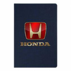 Блокнот А5 Gold Honda
