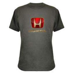Камуфляжная футболка Gold Honda - FatLine