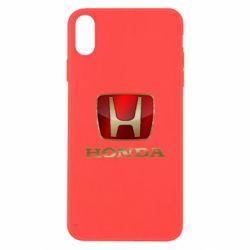Чехол для iPhone X/Xs Gold Honda