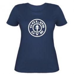 Женская футболка Gold's Gym - FatLine