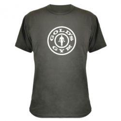 Камуфляжная футболка Gold's Gym - FatLine