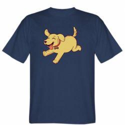 Мужская футболка Golden retriever