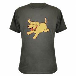 Камуфляжная футболка Golden retriever