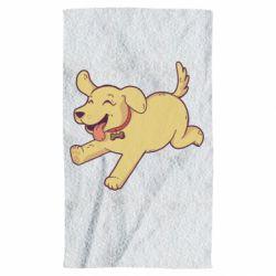 Полотенце Golden retriever