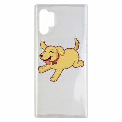 Чехол для Samsung Note 10 Plus Golden retriever