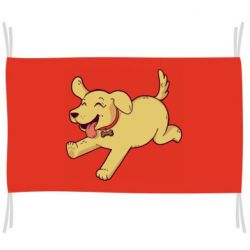 Флаг Golden retriever