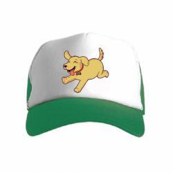 Детская кепка-тракер Golden retriever