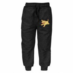 Детские штаны Golden retriever
