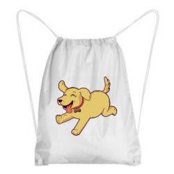Рюкзак-мешок Golden retriever