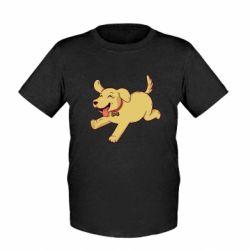 Детская футболка Golden retriever