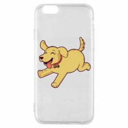 Чехол для iPhone 6/6S Golden retriever
