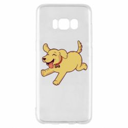 Чехол для Samsung S8 Golden retriever