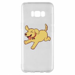 Чехол для Samsung S8+ Golden retriever