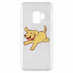 Чехол для Samsung S9 Golden retriever