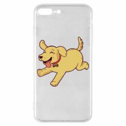 Чехол для iPhone 8 Plus Golden retriever