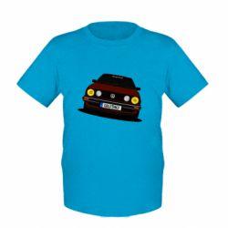 Детская футболка Golf Mk2