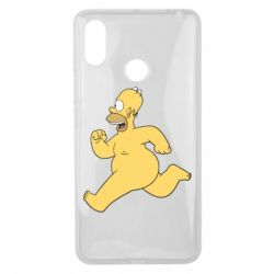 Чехол для Xiaomi Mi Max 3 Голый Гомер Симпсон