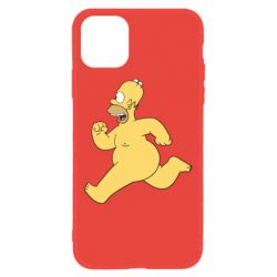 Чехол для iPhone 11 Голый Гомер Симпсон