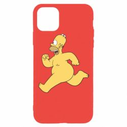 Чехол для iPhone 11 Pro Голый Гомер Симпсон