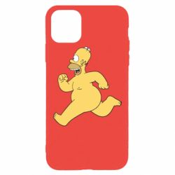 Чехол для iPhone 11 Pro Max Голый Гомер Симпсон