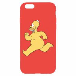 Чехол для iPhone 6/6S Голый Гомер Симпсон