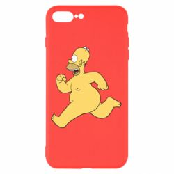 Чехол для iPhone 7 Plus Голый Гомер Симпсон