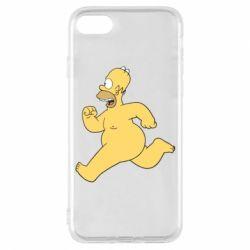 Чехол для iPhone 8 Голый Гомер Симпсон