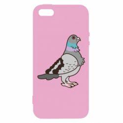 Чехол для iPhone5/5S/SE Голубь
