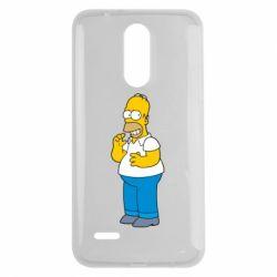 Чехол для LG K7 2017 Гомер что-то затеял - FatLine