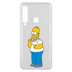 Чехол для Samsung A9 2018 Гомер что-то затеял - FatLine