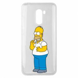 Чехол для Xiaomi Pocophone F1 Гомер что-то затеял - FatLine