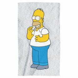 Полотенце Гомер что-то затеял - FatLine