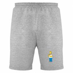 Мужские шорты Гомер что-то затеял - FatLine