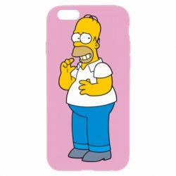 Чехол для iPhone 6/6S Гомер что-то затеял - FatLine