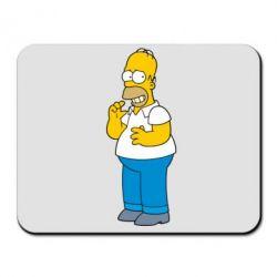 Коврик для мыши Гомер что-то затеял - FatLine