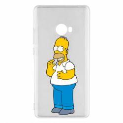 Чехол для Xiaomi Mi Note 2 Гомер что-то затеял - FatLine