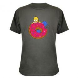 Камуфляжная футболка Гомер и Пончик