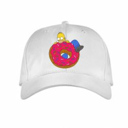 Детская кепка Гомер и Пончик - FatLine