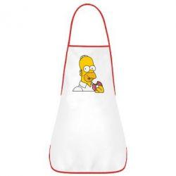 Фартук Гомер любит пончики