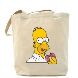 Сумка Гомер любит пончики