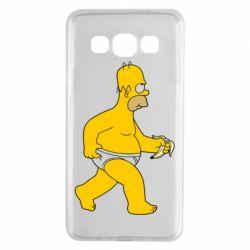 Чехол для Samsung A3 2015 Гомер Симпсон в трусиках