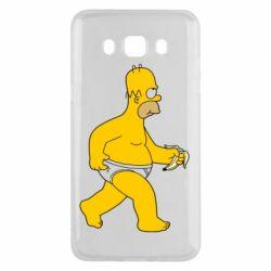 Чехол для Samsung J5 2016 Гомер Симпсон в трусиках