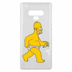 Чехол для Samsung Note 9 Гомер Симпсон в трусиках