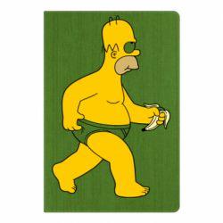 Блокнот А5 Гомер Симпсон в трусиках